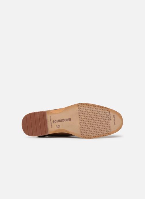 Chaussures à lacets Schmoove Swan desert Marron vue haut