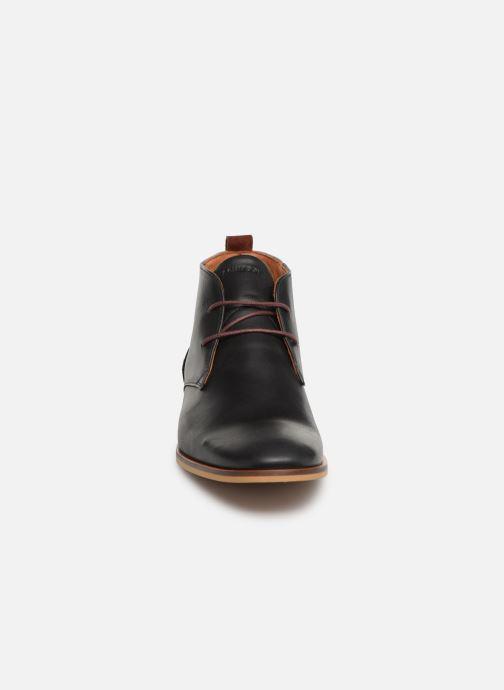 Swan À Desert black Chaussures Lacets Nero Schmoove PZiuXk