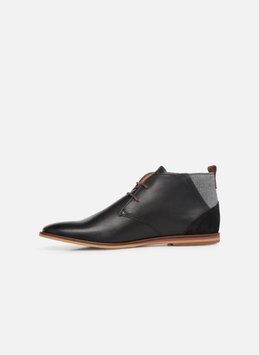Chaussures à lacets Schmoove Swan desert Noir vue face
