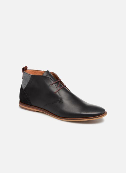 Chaussures à lacets Schmoove Swan desert Noir vue détail/paire