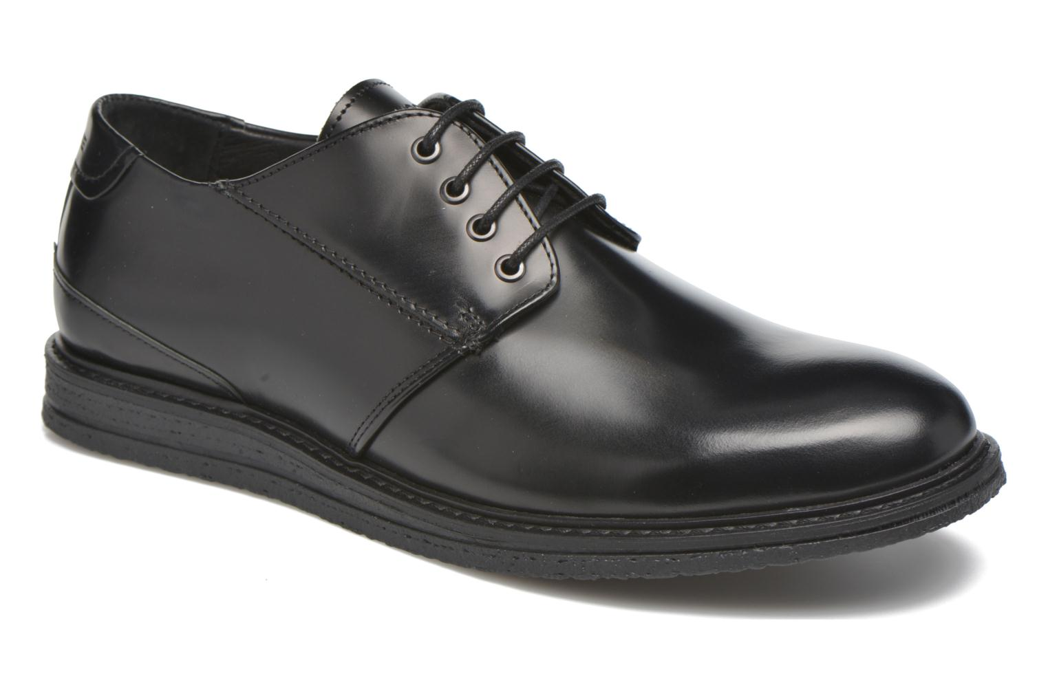 Lace-up shoes Schmoove Shyboy derby Black detailed view/ Pair view