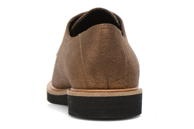 Chaussures à lacets Schmoove Woman Malice Derby Or et bronze vue droite