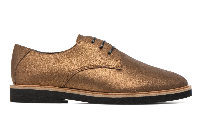 Chaussures à lacets Schmoove Woman Malice Derby Or et bronze vue derrière