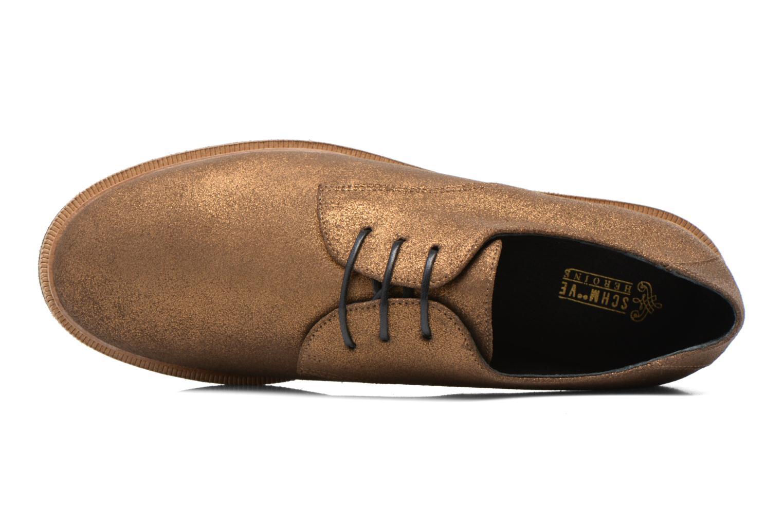 Chaussures à lacets Schmoove Woman Malice Derby Or et bronze vue gauche