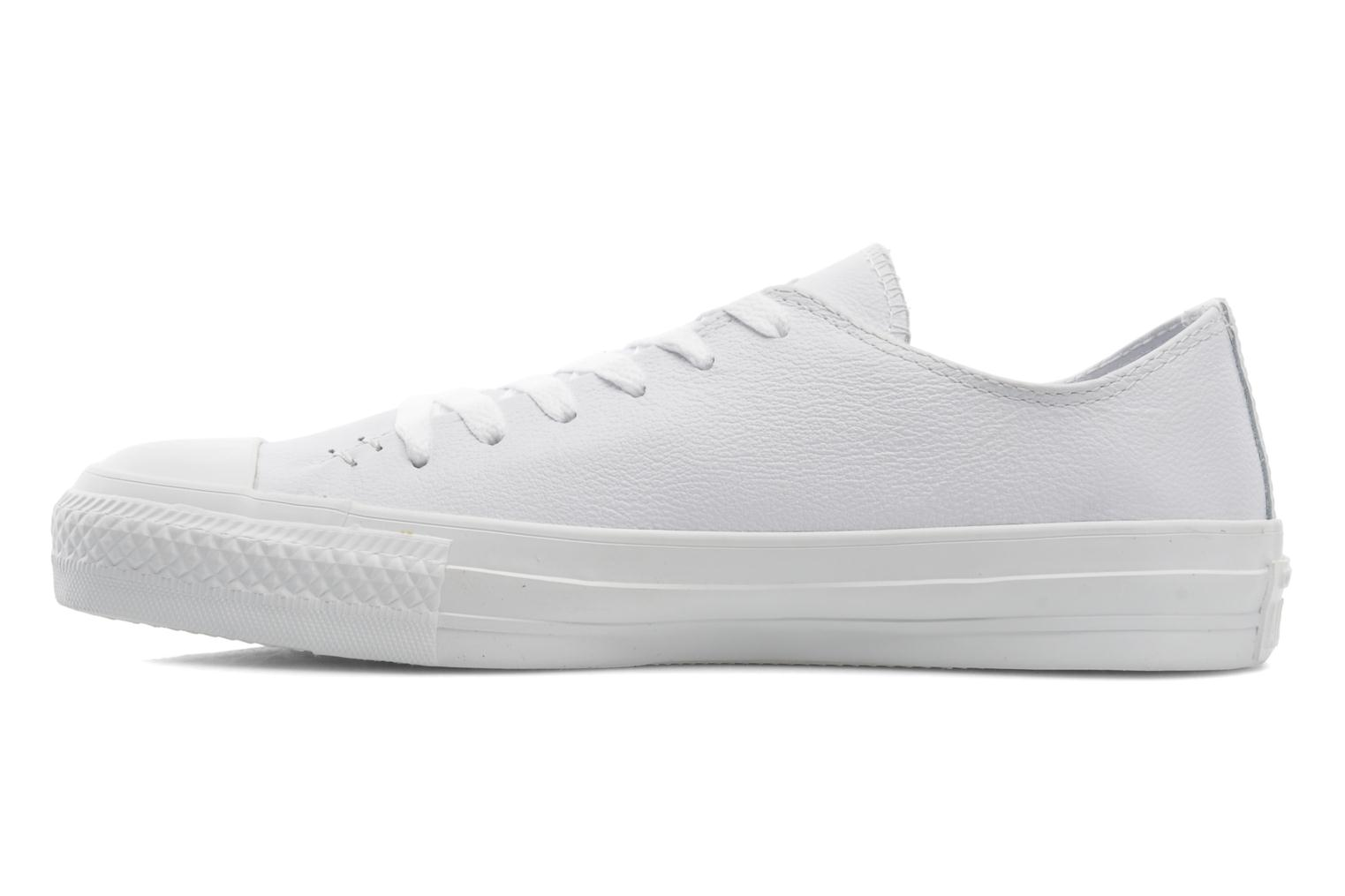 Baskets Converse Chuck Taylor All Star Sawyer Leather Ox M Blanc vue face