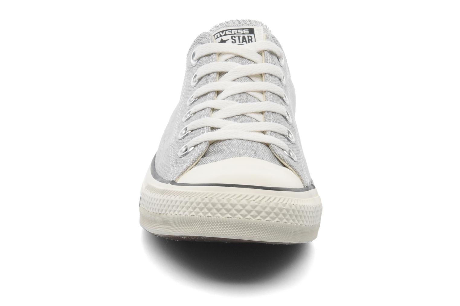 Baskets Converse Chuck Taylor All Star Good Wash Ox M Gris vue portées chaussures