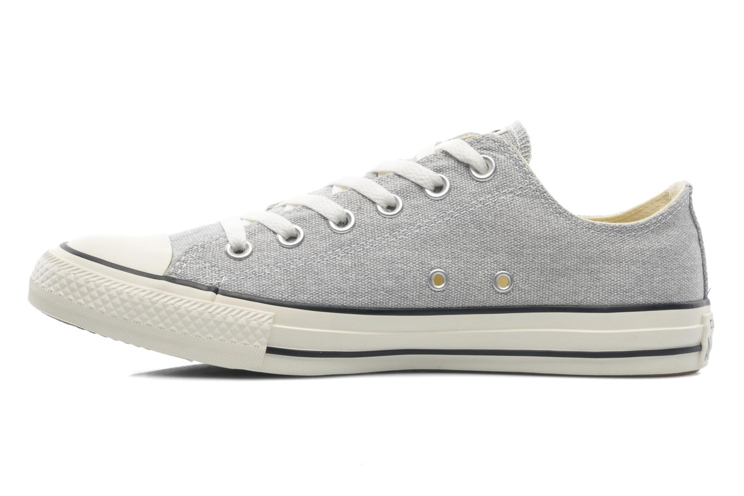 Baskets Converse Chuck Taylor All Star Good Wash Ox M Gris vue face