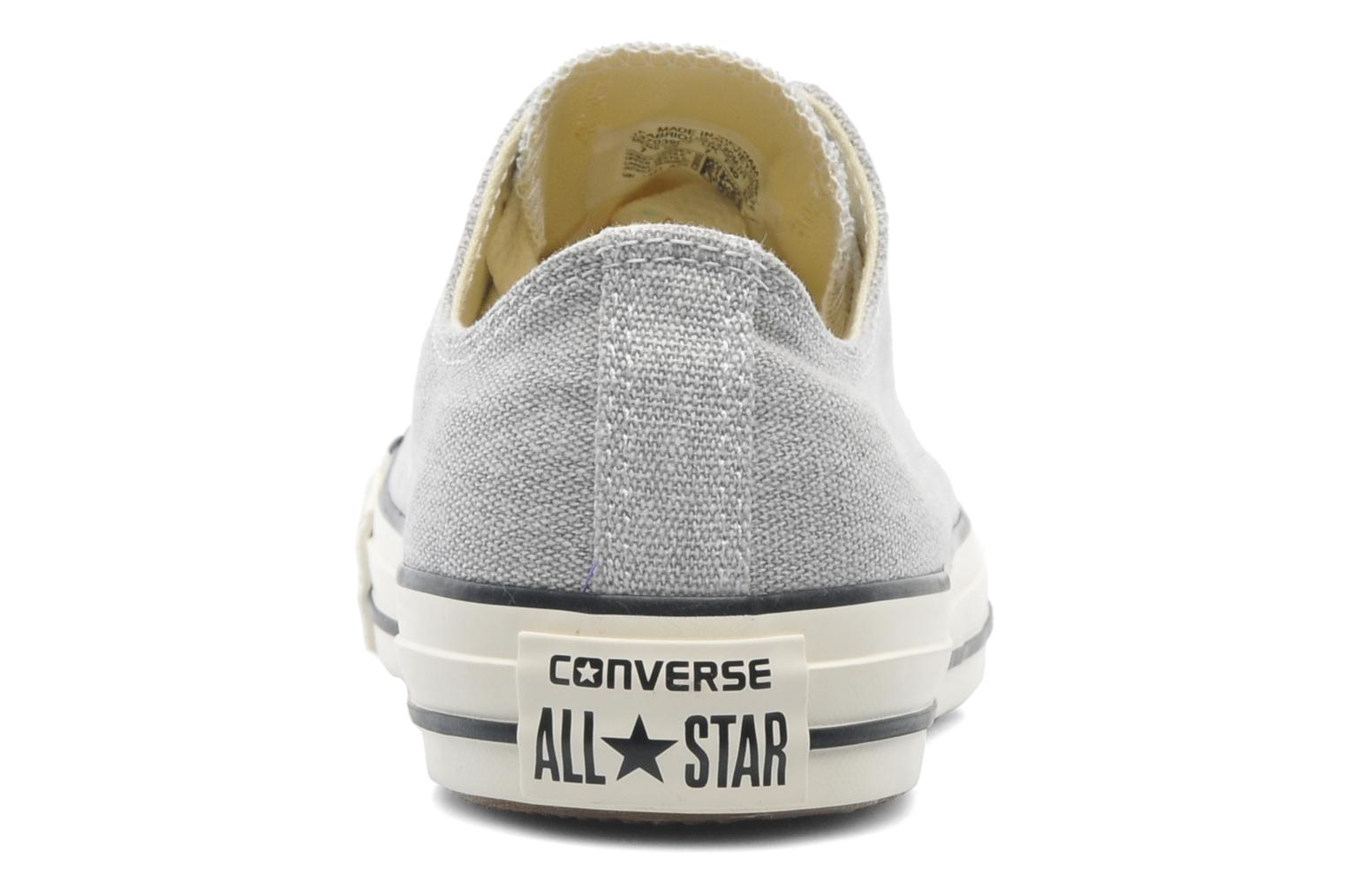 Baskets Converse Chuck Taylor All Star Good Wash Ox M Gris vue droite