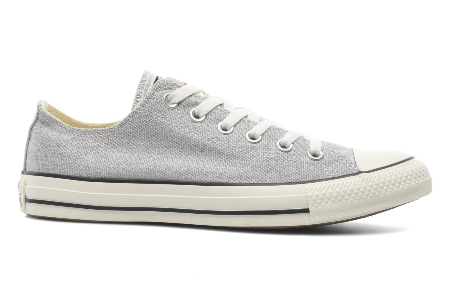 Baskets Converse Chuck Taylor All Star Good Wash Ox M Gris vue derrière