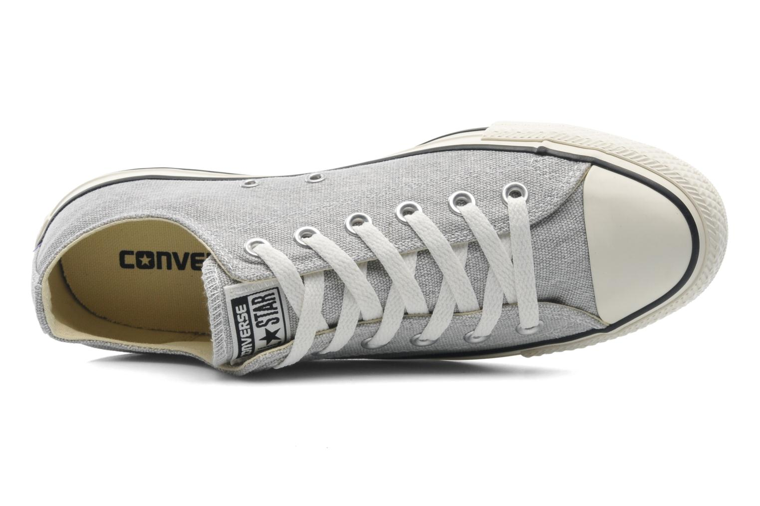 Baskets Converse Chuck Taylor All Star Good Wash Ox M Gris vue gauche