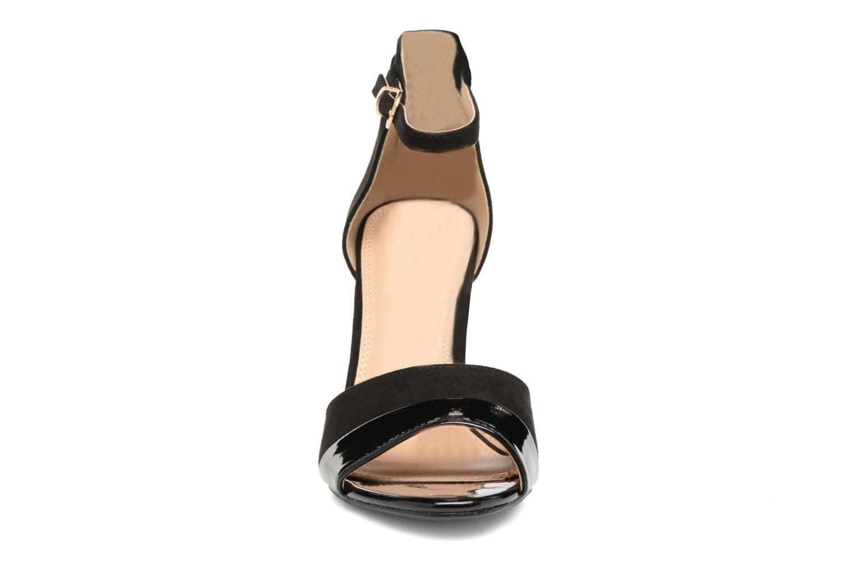 Sandales et nu-pieds Buffalo Olivia Noir vue portées chaussures