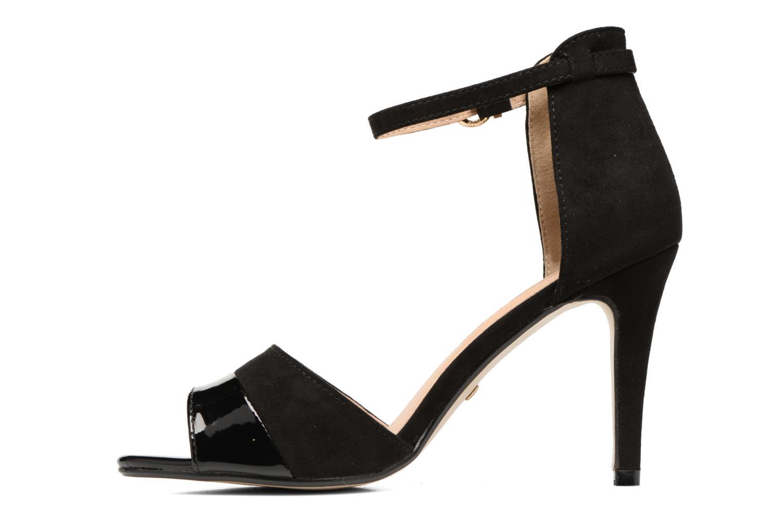 Sandales et nu-pieds Buffalo Olivia Noir vue face