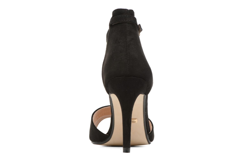 Sandales et nu-pieds Buffalo Olivia Noir vue droite
