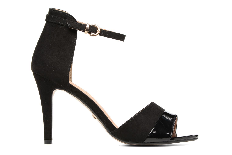 Sandales et nu-pieds Buffalo Olivia Noir vue derrière