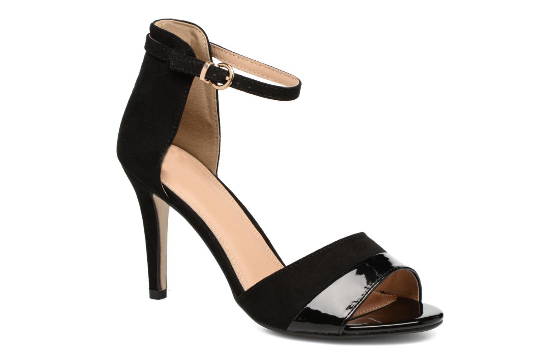 Sandales et nu-pieds Buffalo Olivia Noir vue détail/paire