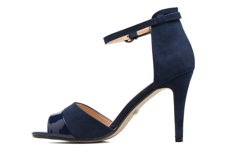 Sandales et nu-pieds Buffalo Olivia Bleu vue face