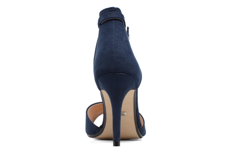 Sandales et nu-pieds Buffalo Olivia Bleu vue droite