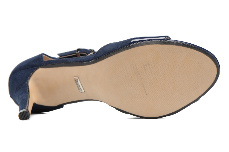 Sandales et nu-pieds Buffalo Olivia Bleu vue haut