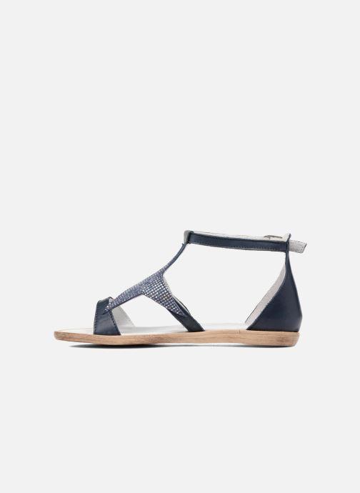 Sandales et nu-pieds Acebo's Constellé Bleu vue face