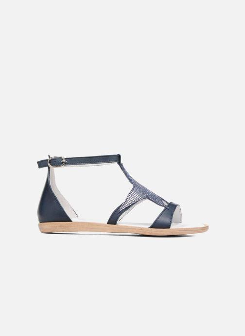 Sandales et nu-pieds Acebo's Constellé Bleu vue derrière