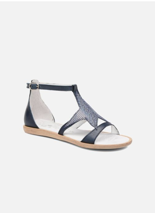Sandales et nu-pieds Acebo's Constellé Bleu vue détail/paire