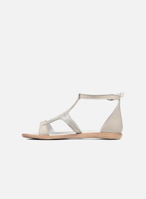 Sandales et nu-pieds Acebo's Constellé Argent vue face