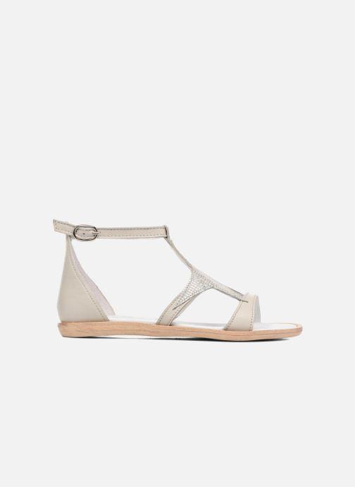 Sandales et nu-pieds Acebo's Constellé Argent vue derrière