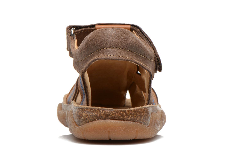 Sandalen Minibel Imed Bruin rechts