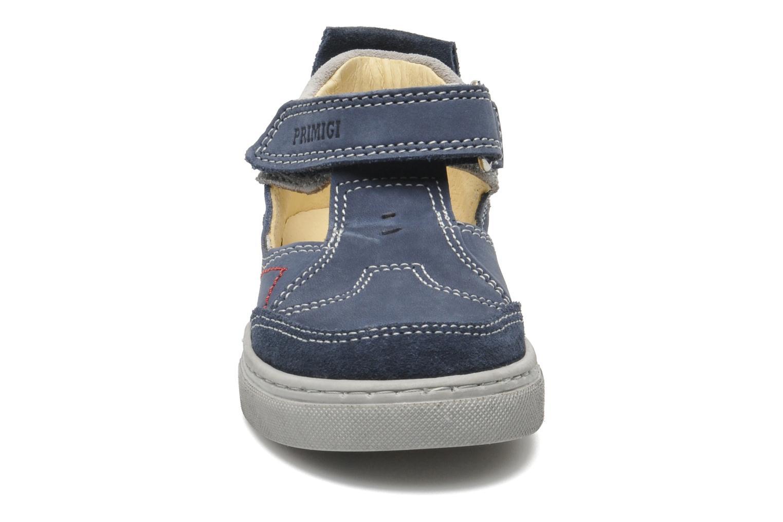 Baskets Primigi RHOY-E Bleu vue portées chaussures