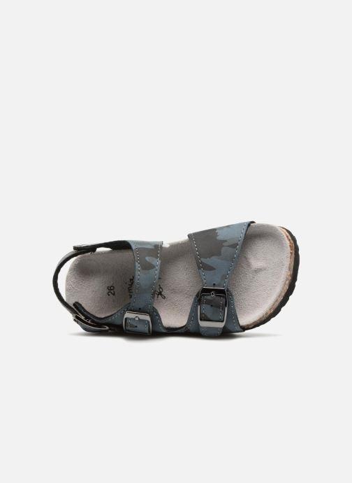 Sandales et nu-pieds Colors of California Bio Matt sandal Bleu vue gauche