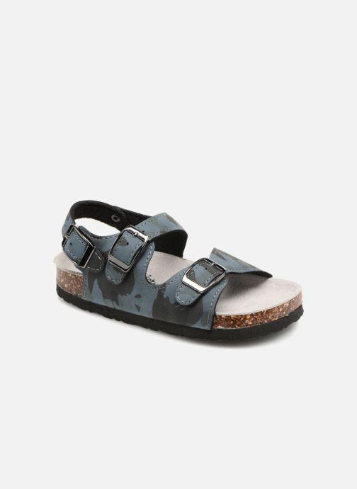 Sandales et nu-pieds Colors of California Bio Matt sandal Bleu vue détail/paire