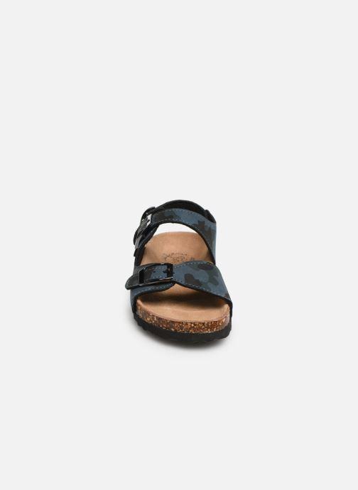 Sandales et nu-pieds Colors of California Bio Matt sandal Bleu vue portées chaussures