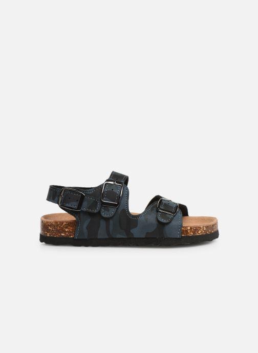 Sandalen Colors of California Bio Matt sandal Blauw achterkant
