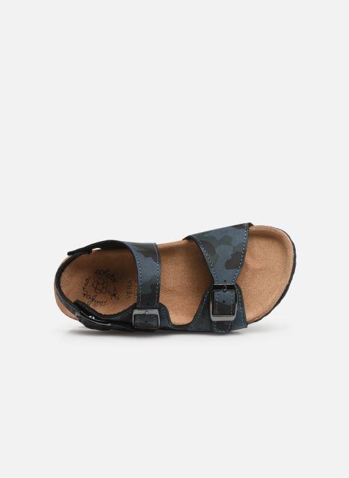 Sandalen Colors of California Bio Matt sandal Blauw links