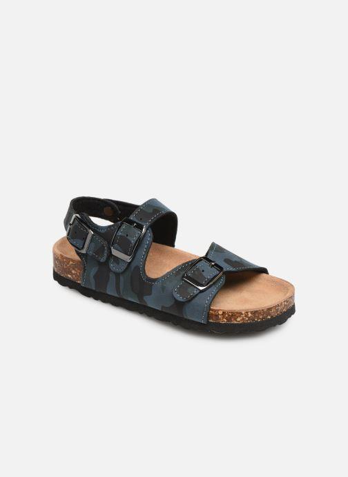 Sandalen Colors of California Bio Matt sandal Blauw detail