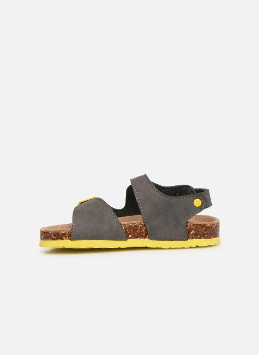 Sandales et nu-pieds Colors of California Bio Matt sandal Gris vue face