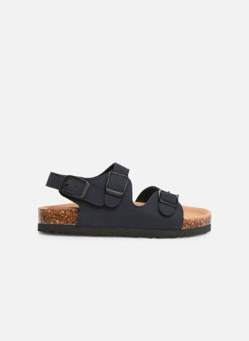 Sandales et nu-pieds Colors of California Bio Matt sandal Bleu vue derrière