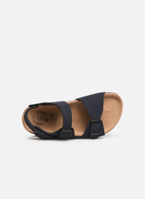 Sandalias Colors of California Bio Matt sandal Azul vista lateral izquierda