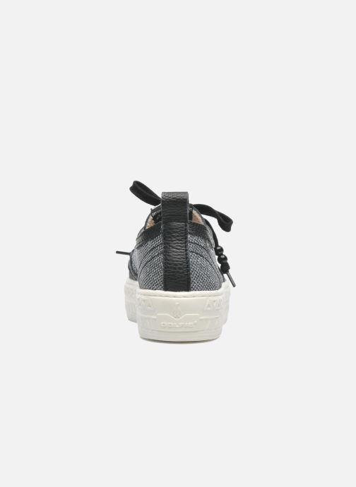 Sneakers Dolfie Devon Argento immagine destra