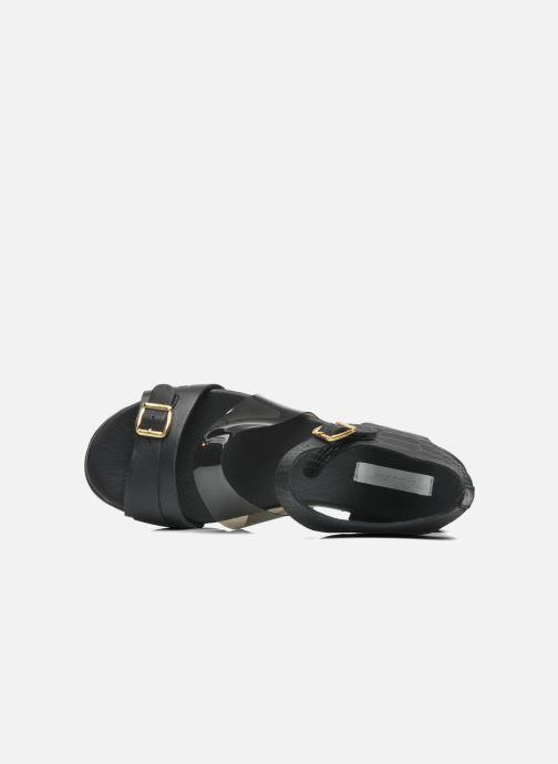 Sandali e scarpe aperte Dolfie Nina Nero immagine sinistra