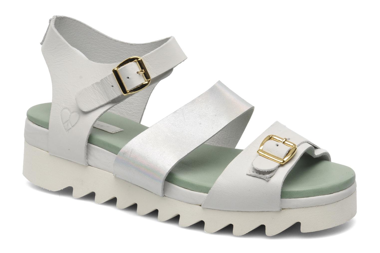 Sandales et nu-pieds Dolfie Nina Blanc vue détail/paire