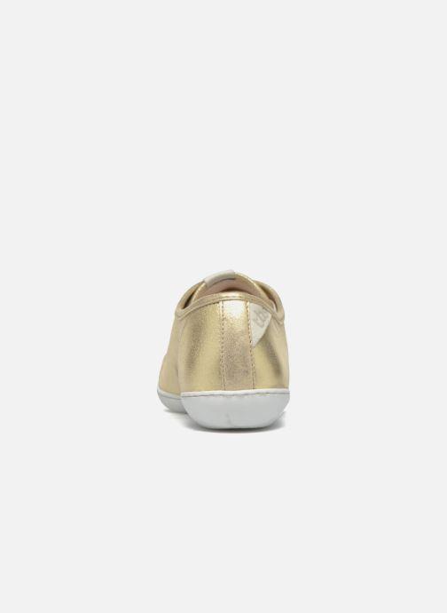 Sneakers TBS Cerise Guld og bronze Se fra højre