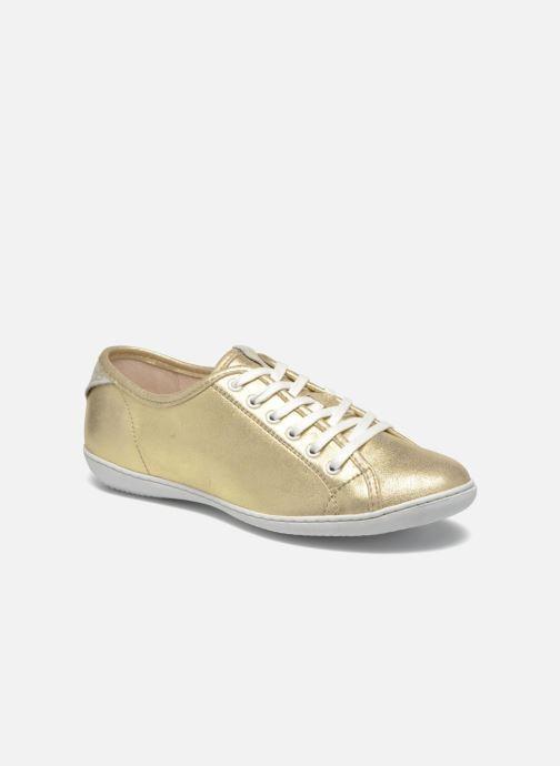 Sneakers TBS Cerise Guld og bronze detaljeret billede af skoene