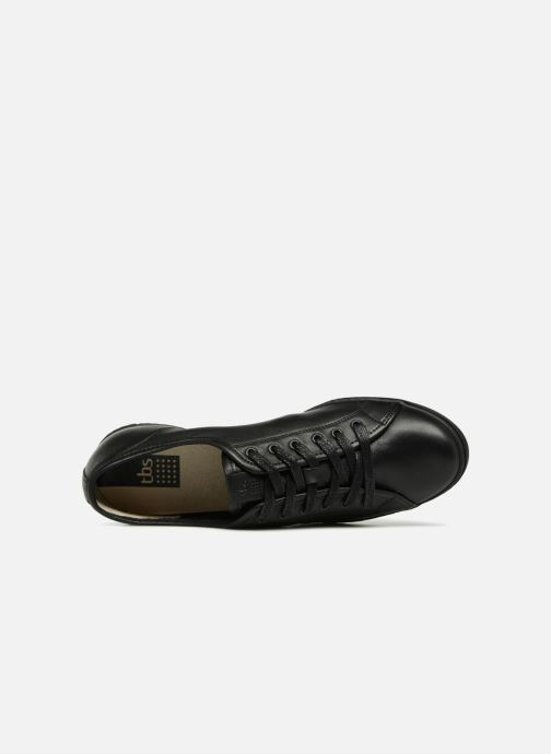 Sneakers TBS Cerise Nero immagine sinistra
