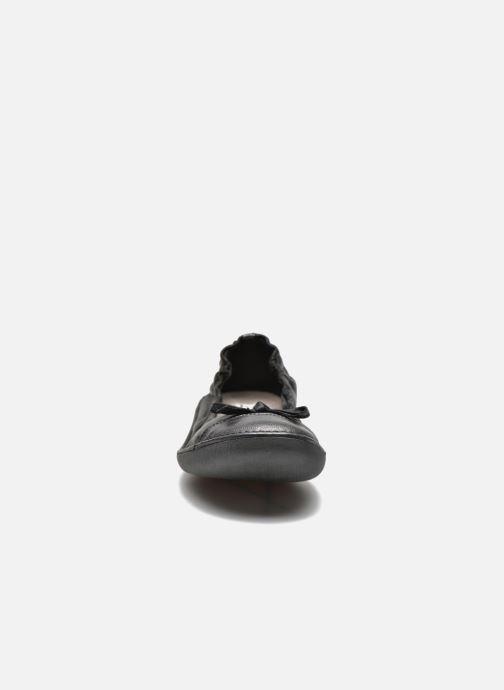 Ballerines TBS Mingos Noir vue portées chaussures