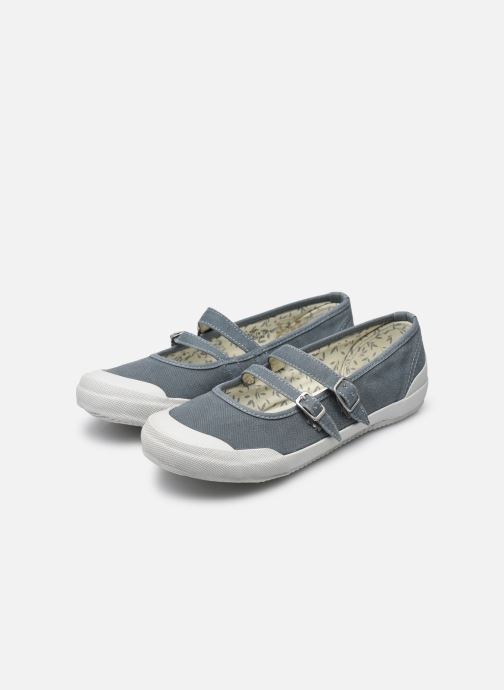 Ballet pumps TBS Olanno P Grey view from underneath / model view