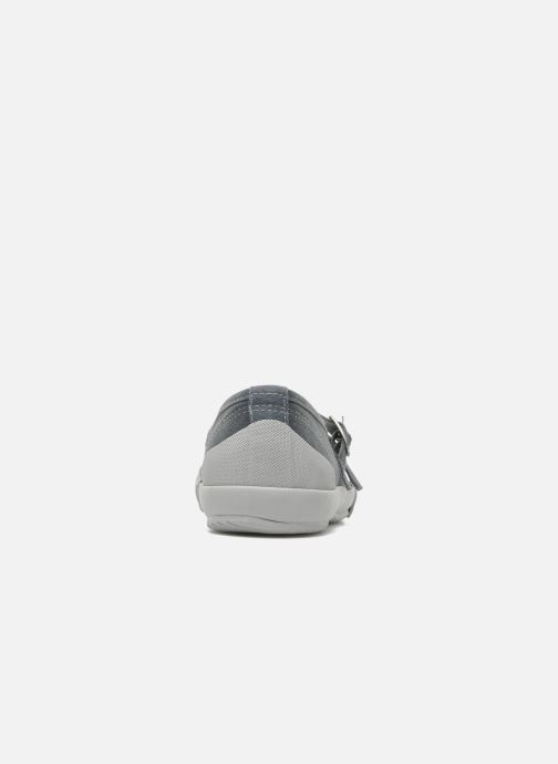 Ballet pumps TBS Olanno P Grey view from the right
