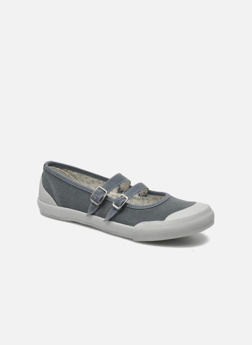 Ballerinaer TBS Olanno P Grå detaljeret billede af skoene