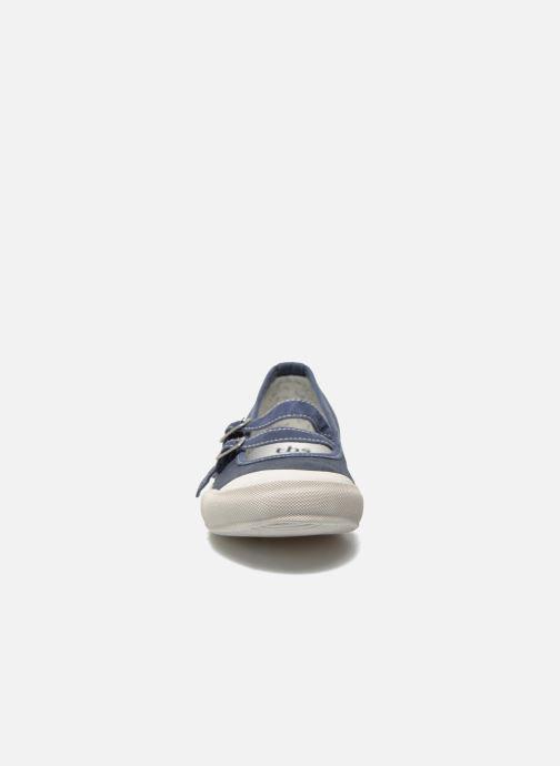 Ballerines TBS Olanno P Bleu vue portées chaussures