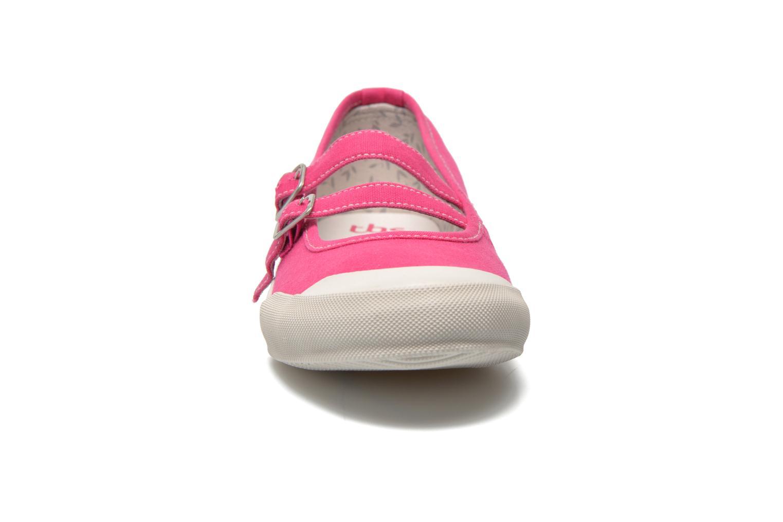 Ballerines TBS Olanno Rose vue portées chaussures
